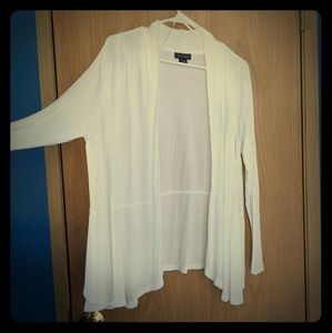 Metaphor White Cardigan